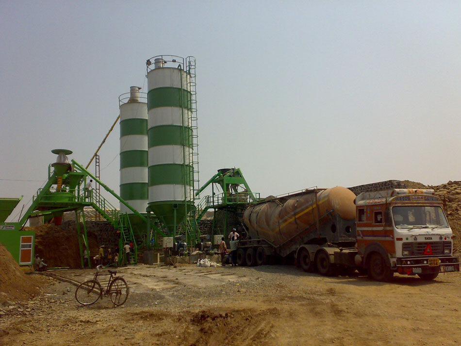 Silos For Concrete Batching Plant Ready Mix Construction Machinery