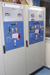 Automatic control system with scada
