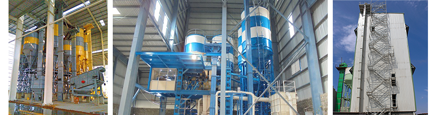 Dry Mix Mortar Plants - Ready Mix Construction Machinery Pvt Ltd